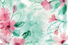 Wall Mural Decals Flowers by Watercolor In The Nursery Project Nursery