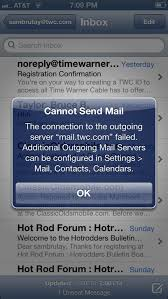 Solved former insight new to twc Iphone e mail wont work