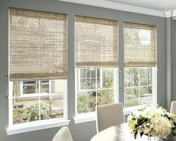 Living Room Blind Dining Window Blinds Best Woven Wood Shades Images On Of