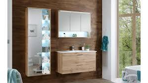 badezimmer best in wildeiche inkl spiegel led beleuchtung