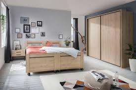wiemann brüssel senioren schlafzimmer steineiche möbel