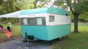 104 Restored Travel Trailers Vintage Trailer Restoration 1958 Trotwood Camper Youtube