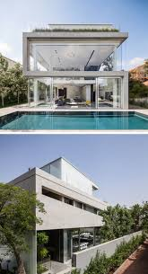 100 Concrete House Designs 13 Modern Exteriors Made From