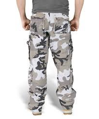 surplus airborne trousers urban camo raw vintage cargo grey combat