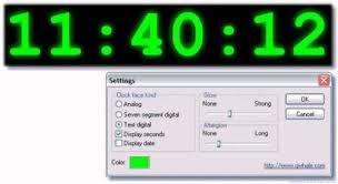 clock screen saver télécharger