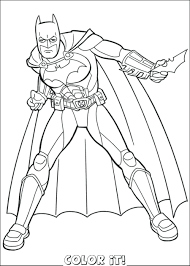 Printable Lego Batman Coloring Pages Free 2 Pictures Selection