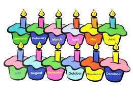 Birthdays bday