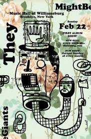 They Might Be Giants February Stand Poster