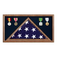 Walnut 5 X 95 Flag Memorial Case