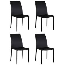 Shop Somette Farrah Black Fully Upholstered Stackable Dining Chair ... Hans Wegner Ch88p Stacking Chair With Upholstered Seat Hivemoderncom Santo Stackable Faux Leather Ding Danetti Chairs Prada Full By Sohoconcept Modern Fniture Wood Habitat Cool Bench Save Set Artisanal Velvet Room Aria Wire Stackable Chair Luxemoderndesigncom 3d Unupholstered Sledge Base Stackable Shell Helsinki In Grey Of 2 Edgemod Contemporary Ding Chair Upholstered Lvet Boom Amazoncom Yxx Home Kitchen Solid Oak Blue And Fabric Barker Stonehouse Outdoor Plastic