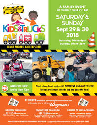 Kids & Trucks | Children's Institute