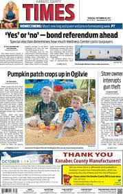 Dresser Methven Funeral Home by Kanabec County Times E Edition Nov 3 2016 By Kanabec County
