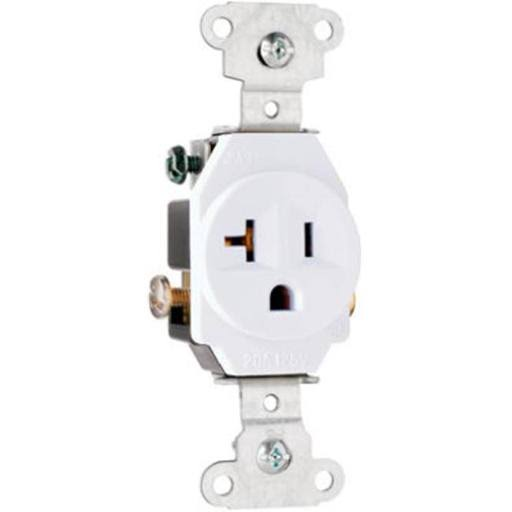 Pass Seymour Heavy Duty Single Outlet - 20A
