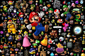 20x30 Inch Living Room Decoration Stickers Home Decor Super Mario Cool Posters House Poster