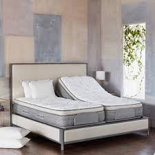 Headboard For Tempurpedic Adjustable Bed by Brentwood Home Cupertino Cushion Firm Split King With Adjustable