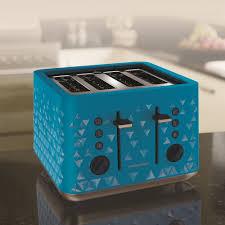 Prism Blue 4 Slice Toaster