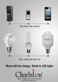cell phone has evolved now light bulb also has move with the