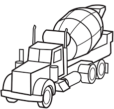 Free Coloring Pages Of Old Fire Truck