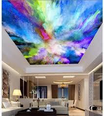 fotowand mural farbe inkjet tapeten für wohnzimmer decke 3d wandmalereien tapete wanddekoration