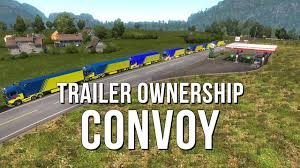 100 Falcon Trucking Trailer Ownership Convoy 29 SEP 2018 YouTube