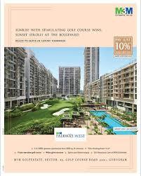 100 Utopia Residences M3M Fairway West Ready To Movein Luxury Residences In Gugaon