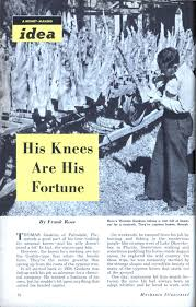 Make Cypress Knee Lamps by His Knees Are His Fortune Modern Mechanix