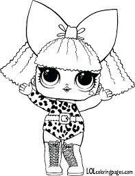 Lol Coloring Pages Surprise Dolls That Are Blank Doll Diva