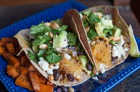 pages in my passport spaghetti squash black bean tacos