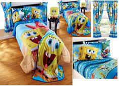 Spongebob Toddler Bedding Set by Spongebob Squarepants Toddler Bedding Set 4pc Comforter Bed Set