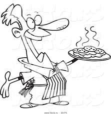 Men clipart baking 7