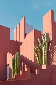 color inspiration coole architektur roten wände texturen