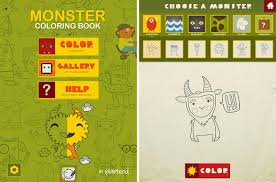 Monster Coloring Book Includes 175 Different Monsters To Color Giving Your Child A Plethora Of Options Choose From They Are Separated Into 7
