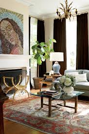 Mix Modern And Traditional Colonial Living Room