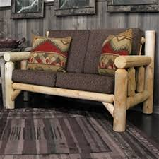 Rustic Sofas Couches Log Sofa Couch
