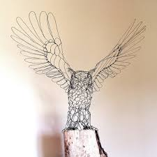 Delightful Wire Sculptures Of Birds And Animals By Ruth Jensen A Sculptor Based In Minnesota