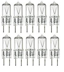 10pack 20 watt xenon g8 120v t4 light bulbs g8 base