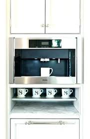 Under Cabinet Mount Coffee Maker Black And 8 Cup