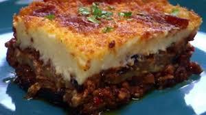 cuisiner facile la recette facile et pas chère de la moussaka traditionnelle