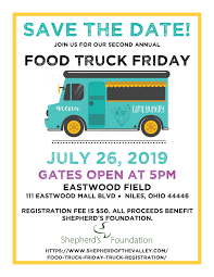 100 Food Truck Friday Registration Shepherd Of The Valley