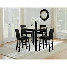Dining Table Set Walmart by Dining Tables 9 Piece Counter Height Dining Set Bar Kitchen