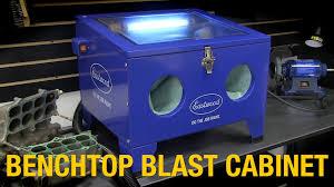 Diy Sandblast Cabinet Vacuum by Home Media Blasting Solution Remove Rust With Benchtop Blast