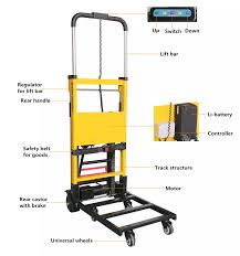 Aen-11a Top-rated Electric Folding Stair Climbing Hand Truck - Buy ...