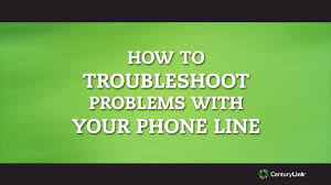 how to troubleshoot for static or noise on your phone line or no