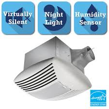 Humidity Sensing Bathroom Fan Wall Mount by Delta Breez Signature G2 Series 110 Cfm Ceiling Exhaust Bath Fan
