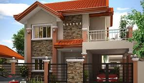 The House Design Storey by Gorgeous Minimalist Two Storey Residence Home Design