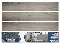 details zu floor planks tiles self adhesive vinyl grey wood flooring kitchen bathroom