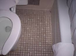 bathroom floor with 70 s locker room tile picture of the regency