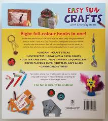 Easy Fun Crafts With Everyday Items 8 Books In 1