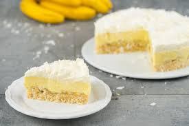 kokos bananen kuchen sallys