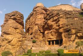 100 Rocky Landscape Badami A Rocky Landscape And Rock Cut Temples Go